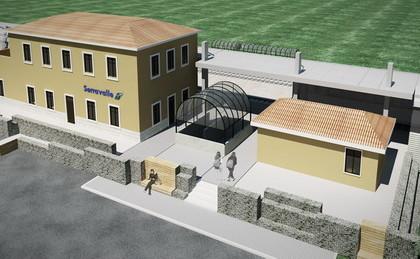 Stazione Ferroviaria, Serravalle (VC)
